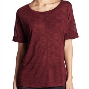Threads 4 Thought Maroon Knit Tee